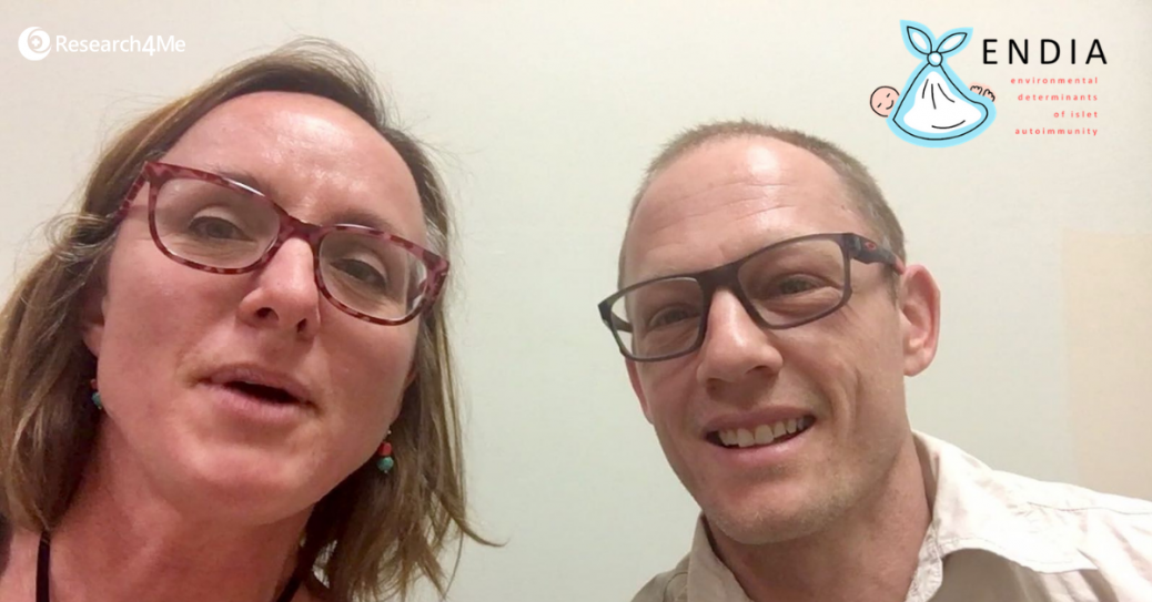 ENDIA study interview with Bill and Kelly