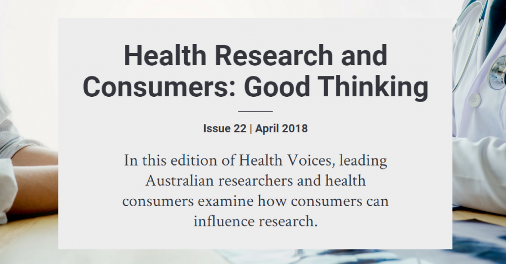 Health Voices - Consumers in research