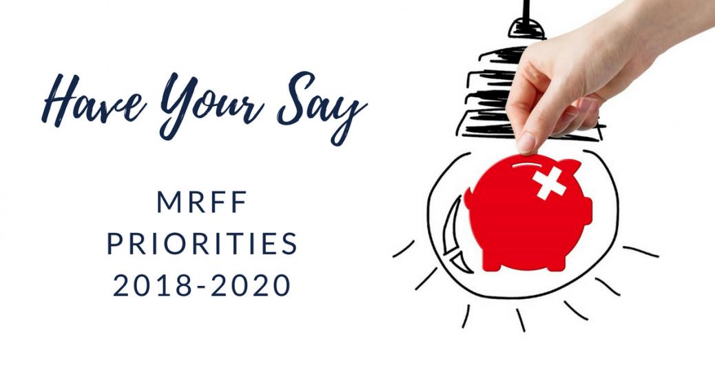 MRFF Priorities