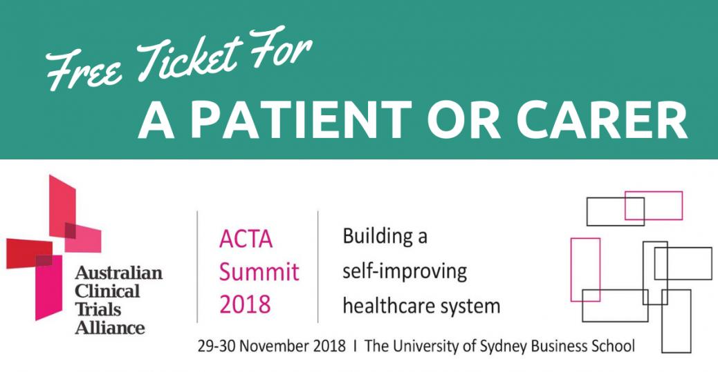 ACTA Summit 2018 Free ticket