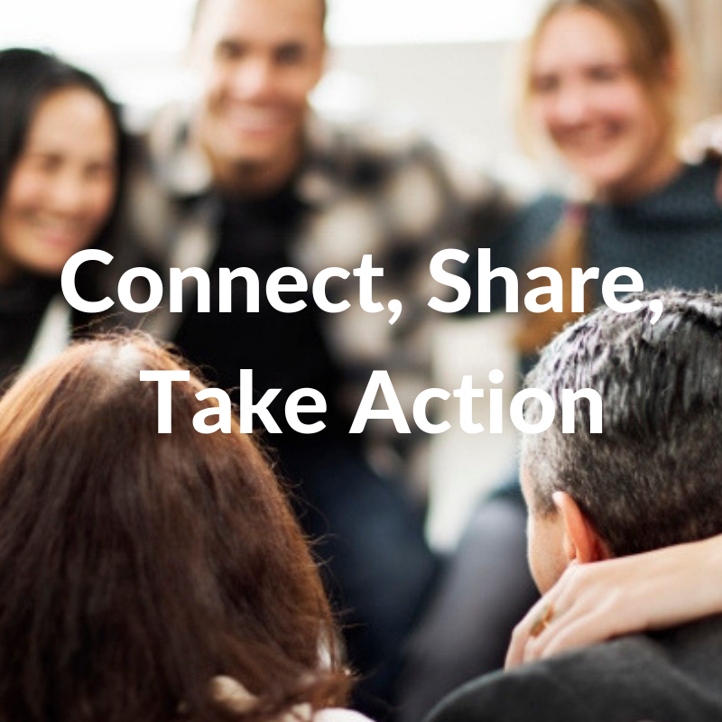Connect Share Take Action with Research4Me