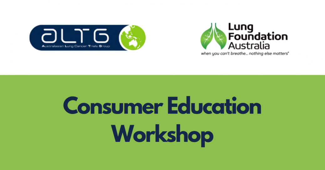 ALTG Consumer Education Workshop