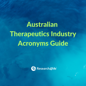 Australian Therapeutics Industry Acronyms Guide